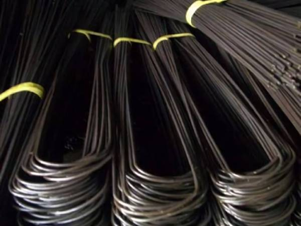 Black U type annealed wire widely used in construction