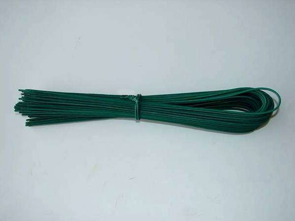 U type binding wire with green PVC coating avoiding external corrosion